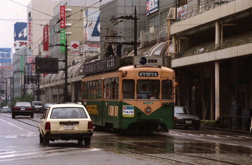 1993年夏、なぜか雨の西町で。:...